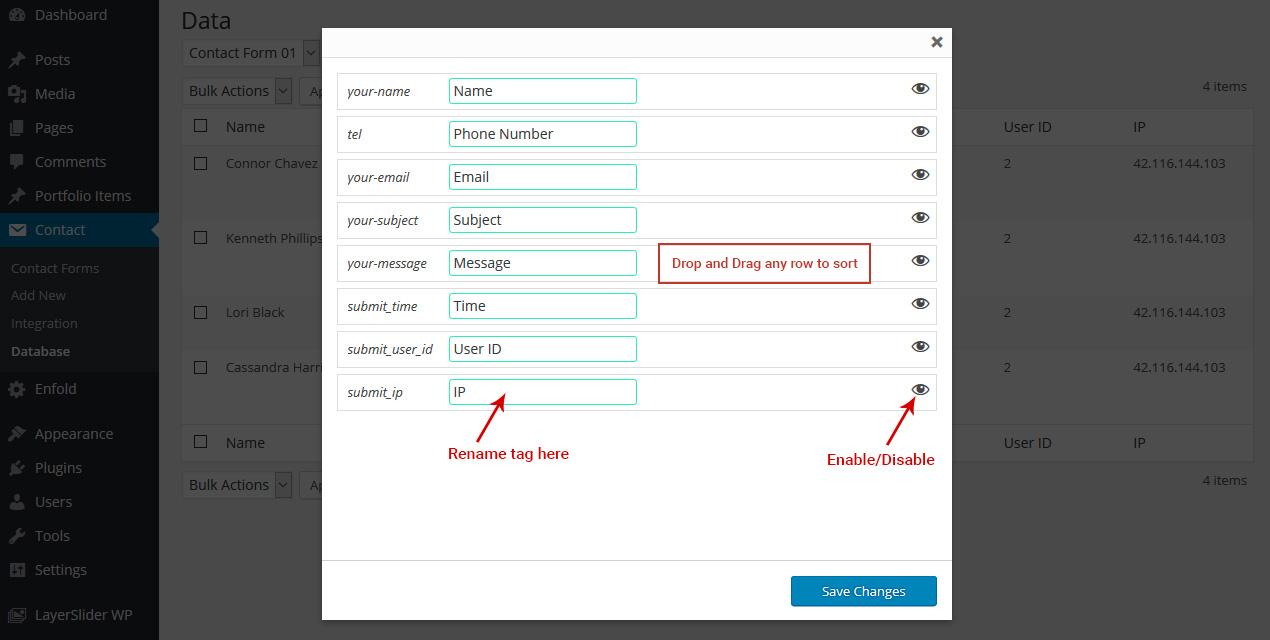 Contact Form 7 Database Ninja Team