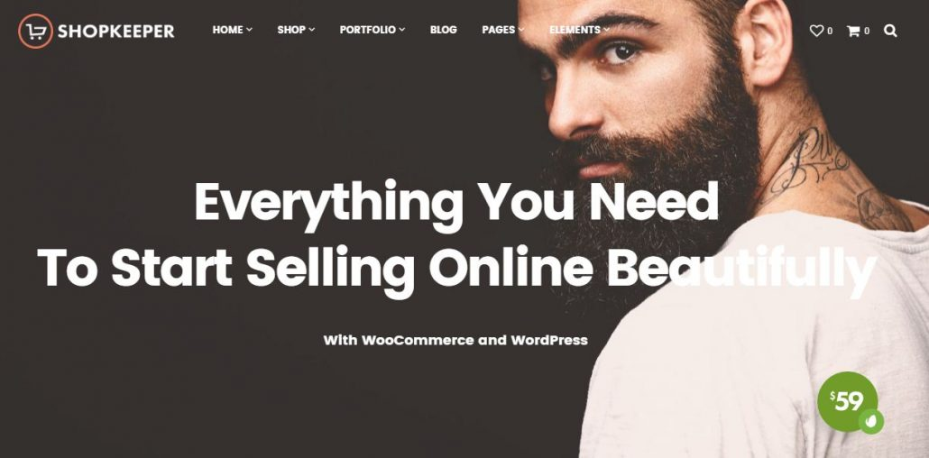 Shopkeeper-fashion-store-wordpress-theme