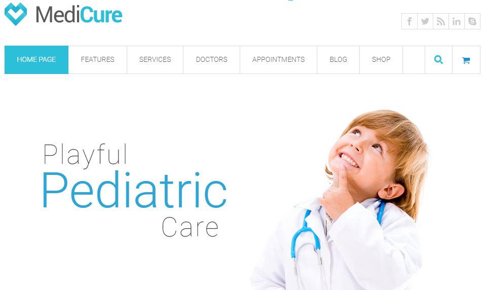 medicure -health-medical-wordpress-theme