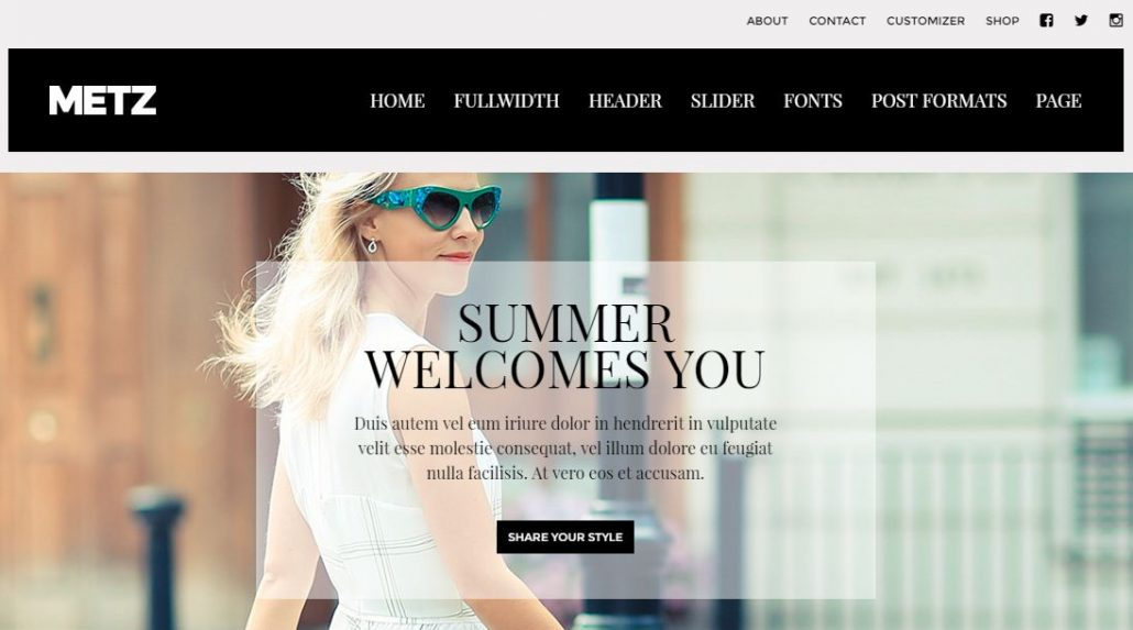 metz-fashion-store-wordpress-theme