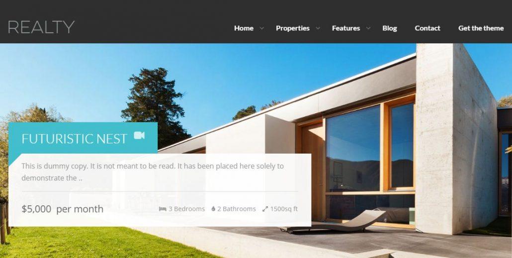realty-real-estate-wordpress-theme