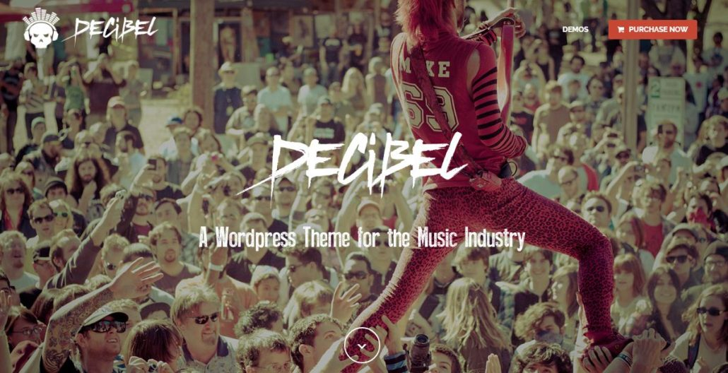 decibel-wordpress-theme-music-artists-bands-clubs