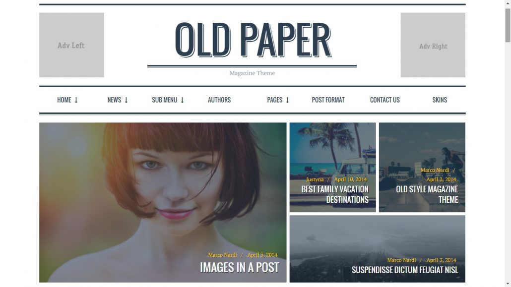 old-paper-review-wordpress-theme-affiliate-marketing