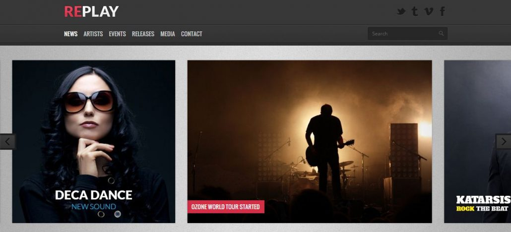 replay-wordpress-theme-music-artists-bands-clubs
