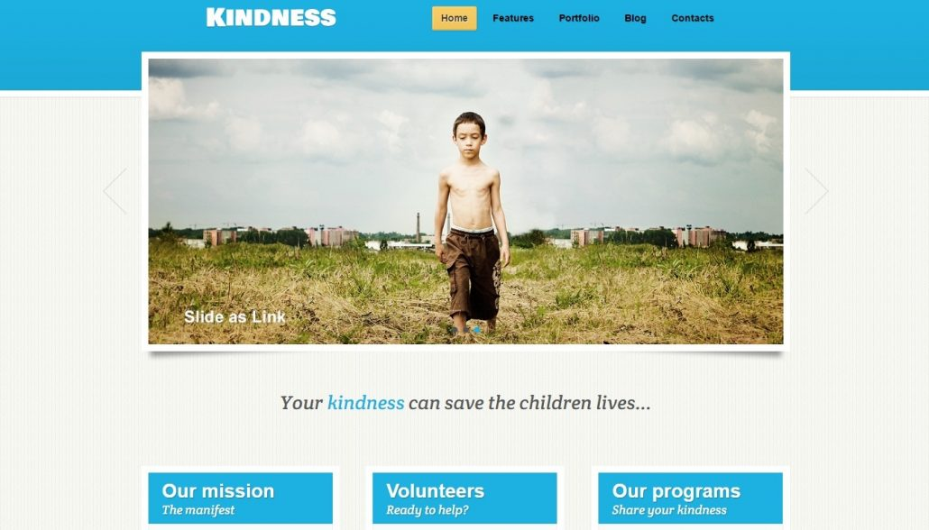 Kindness-charity-wordpress-theme