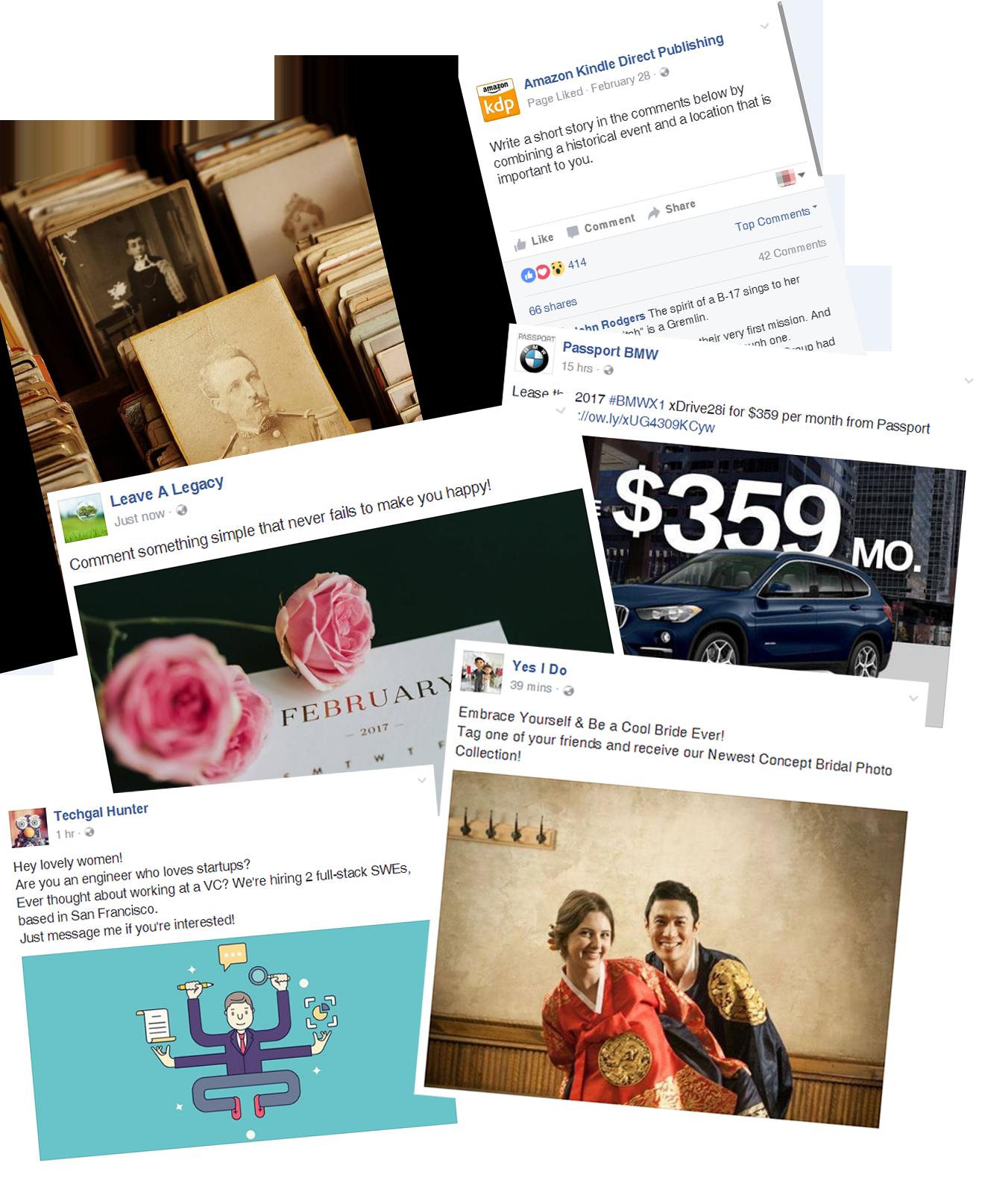 Messenger AutoReply sample posts