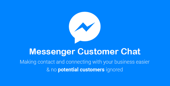 Messenger Customer Chat for WordPress