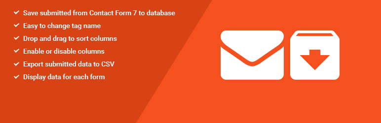 contact form 7 database