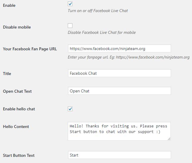 ninjateam facebook live chat
