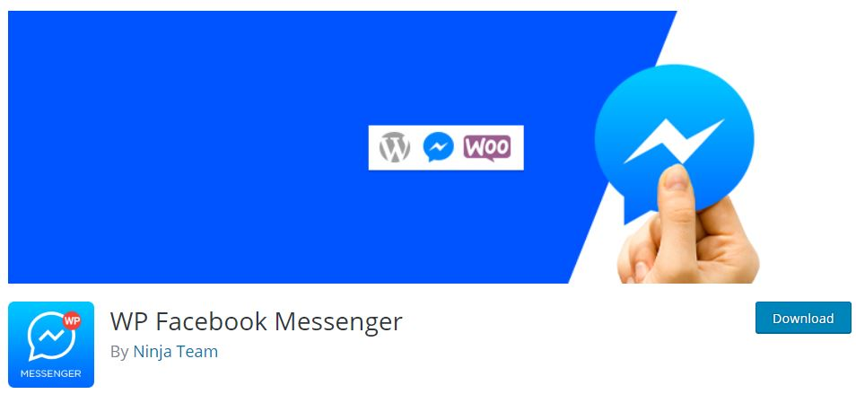 wp facebook messenger