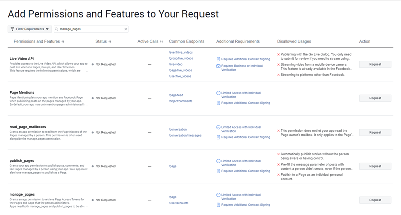 How to Submit Your Facebook App for Review - Ninja Team
