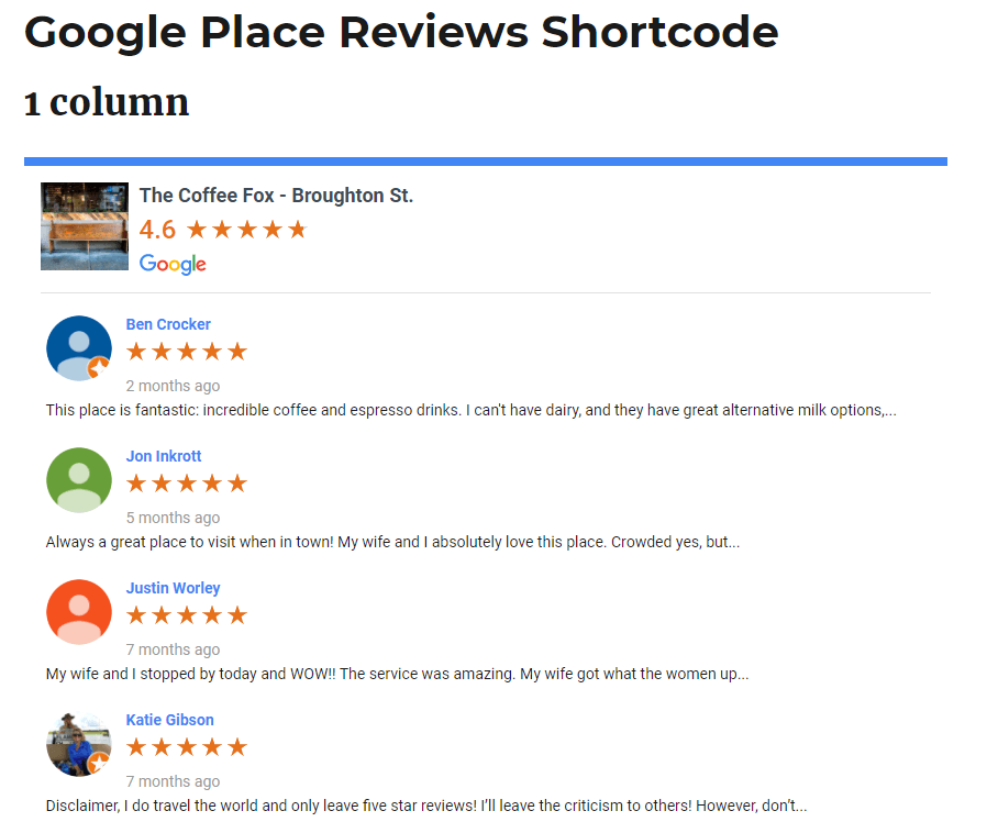 Ninja Google Reviews