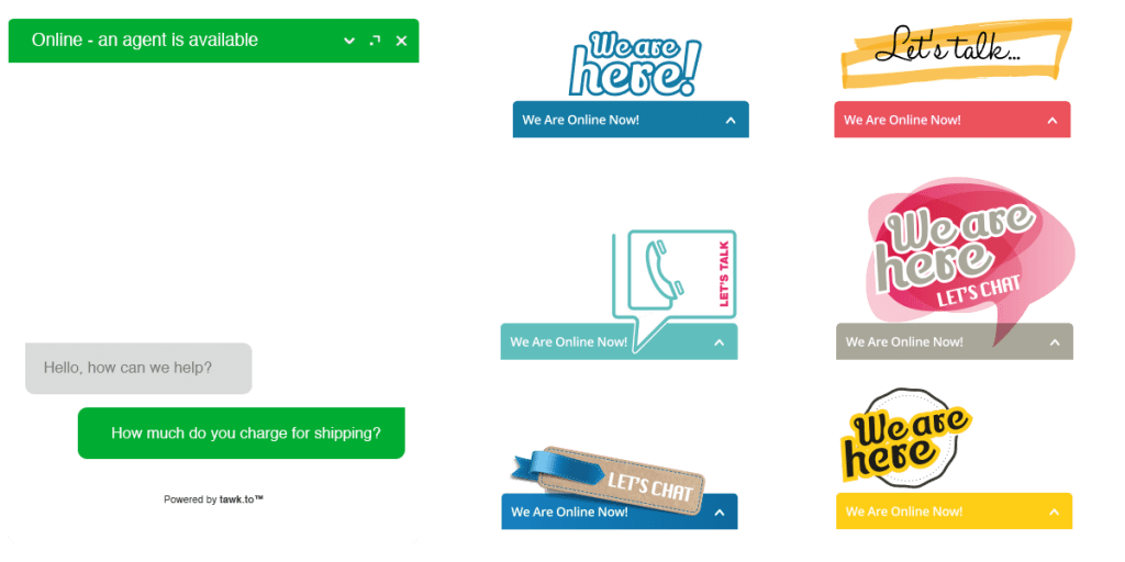 tawk.to live chat plugin