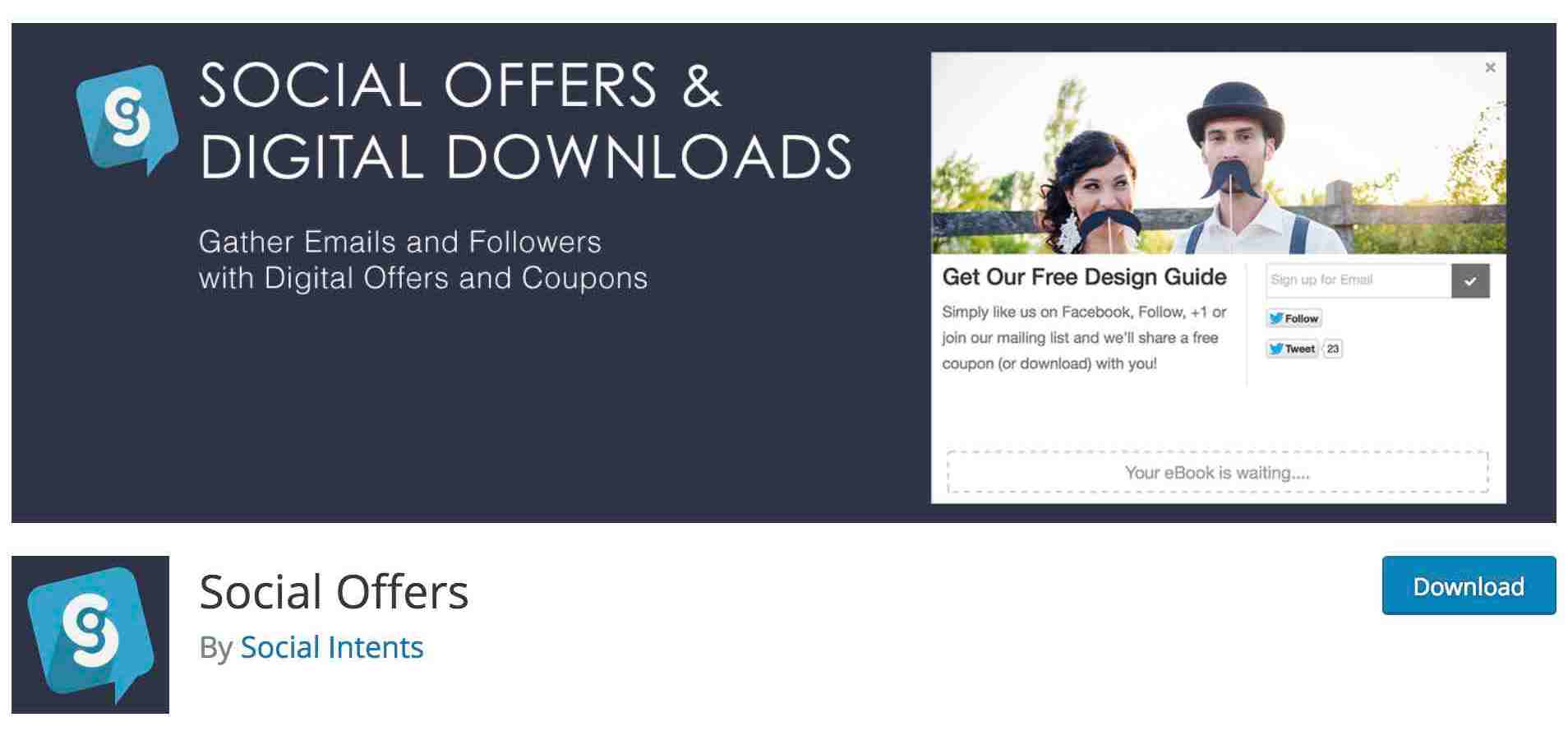 Social Offers Coupons and Other Incentives