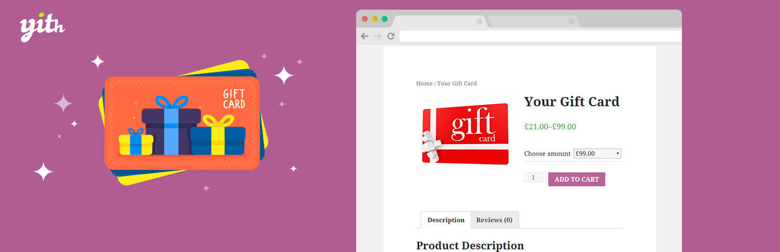 YITH WooCommerce Gift Cards
