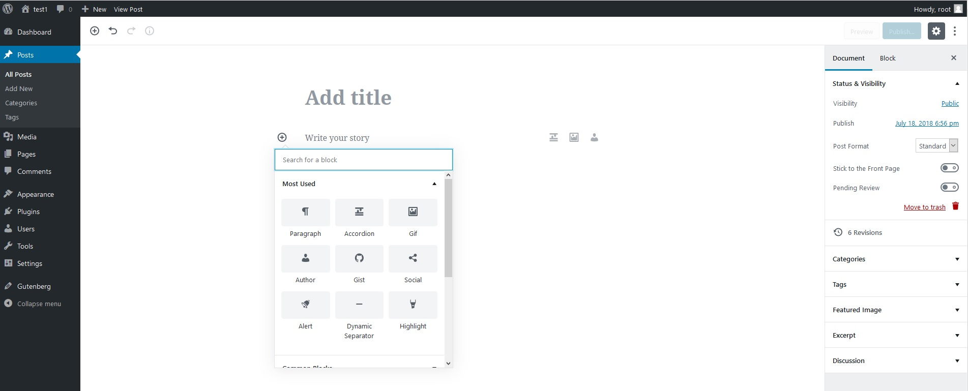 CoBlocks wordpress plugin