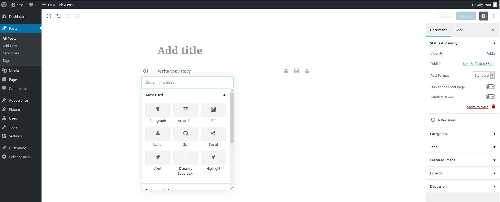 CoBlocks wordpress plugin