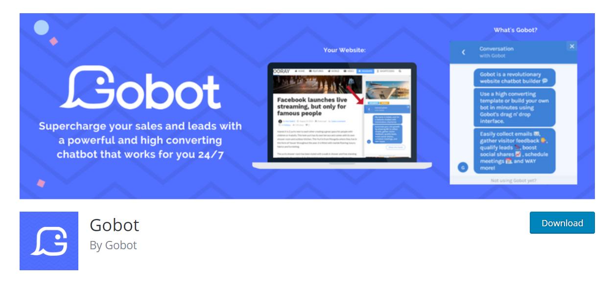 gobot wp plugin