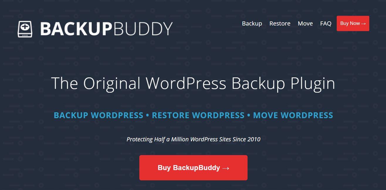 backupbuddy - wp backup plugin