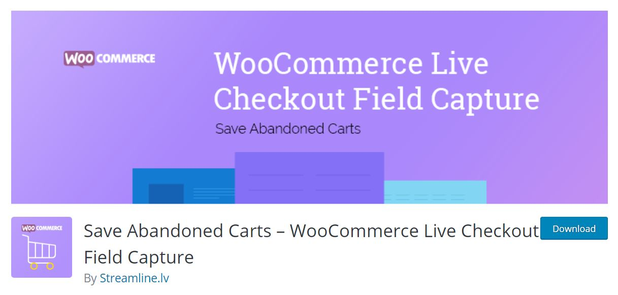save abandoned carts