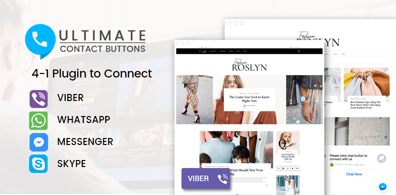 ultimate-contact-buttons-banner-page
