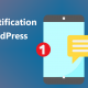 notifications bar wordpress