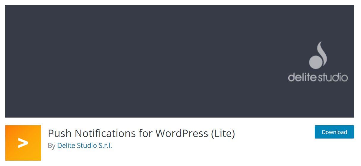 push noti for wordpress
