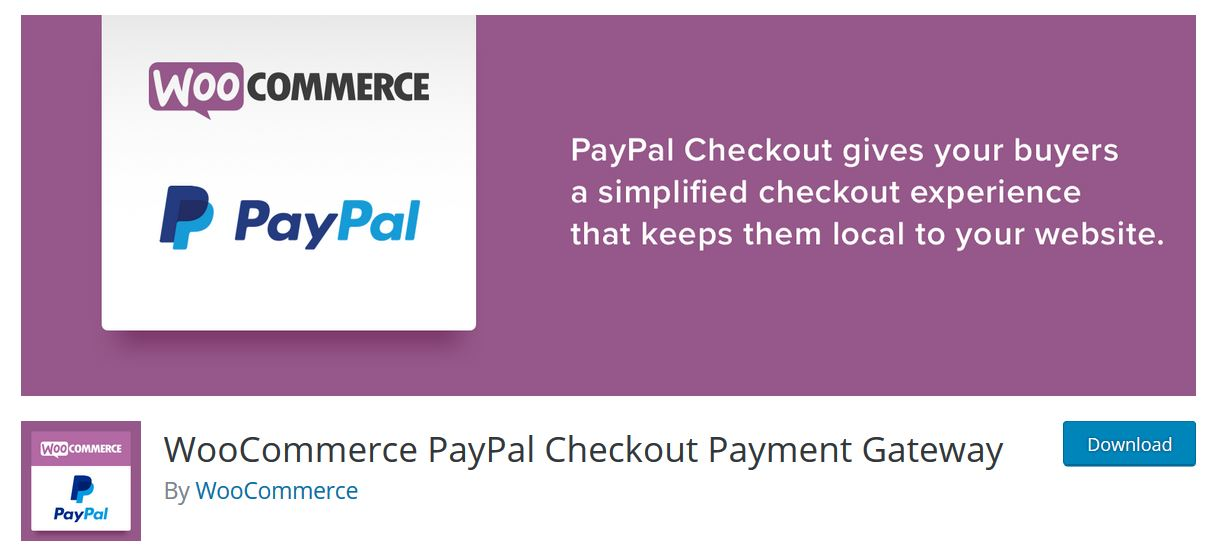 woocommerce paypal checkout payment