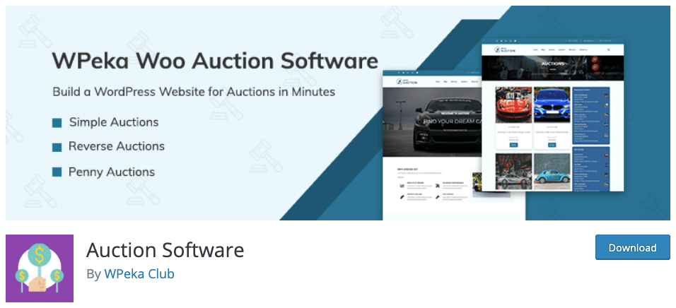 WPAuction Software