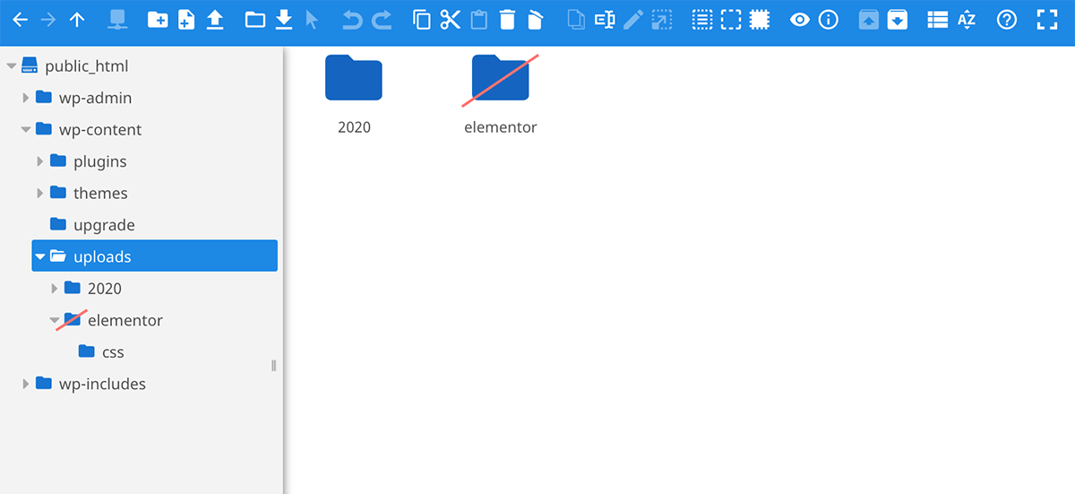 filester file manager folders