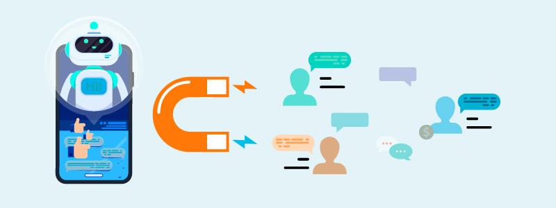 segment audience using chatbot facebook
