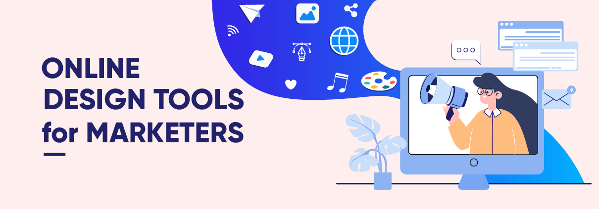 Online design tools for marketers