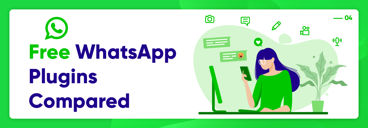 Top 4 Free WhatsApp plugins