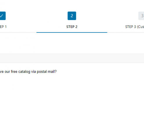 contact form 7 multi step on front-end step 2