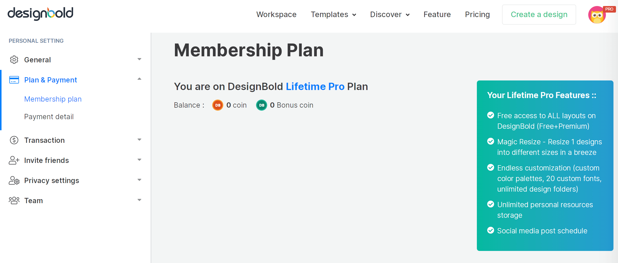 designbold plan - design tools for marketers
