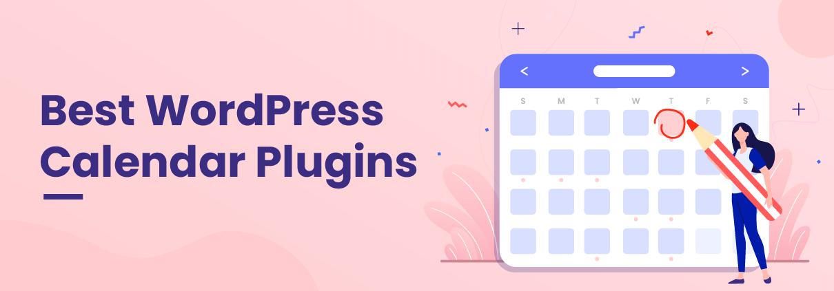 Best WordPress Calendar Plugins - Banner