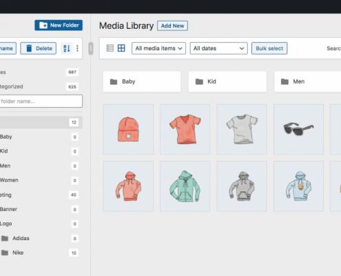 FileBird-media-library-folders