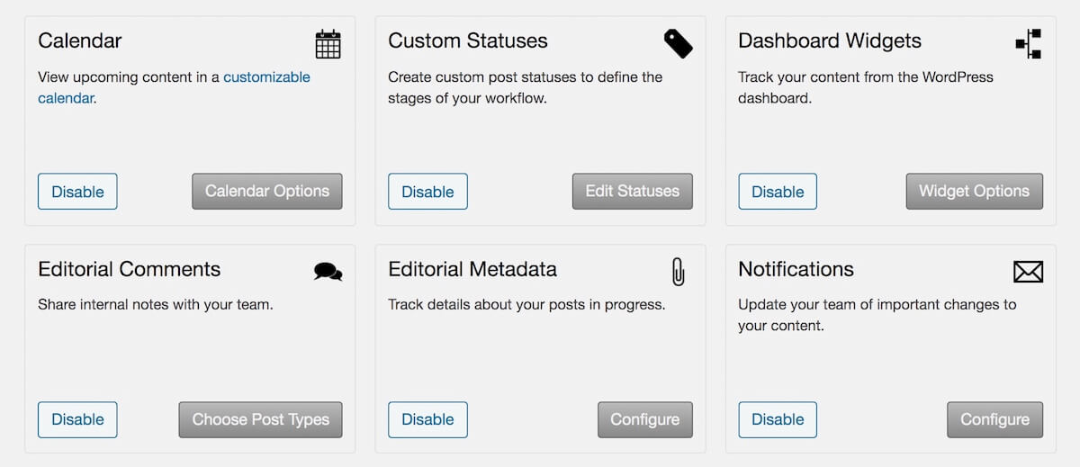 edit flow plugin features for wordpress