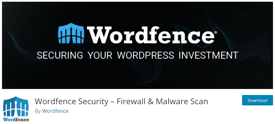 Wordfence is my favorite WordPress security plugin