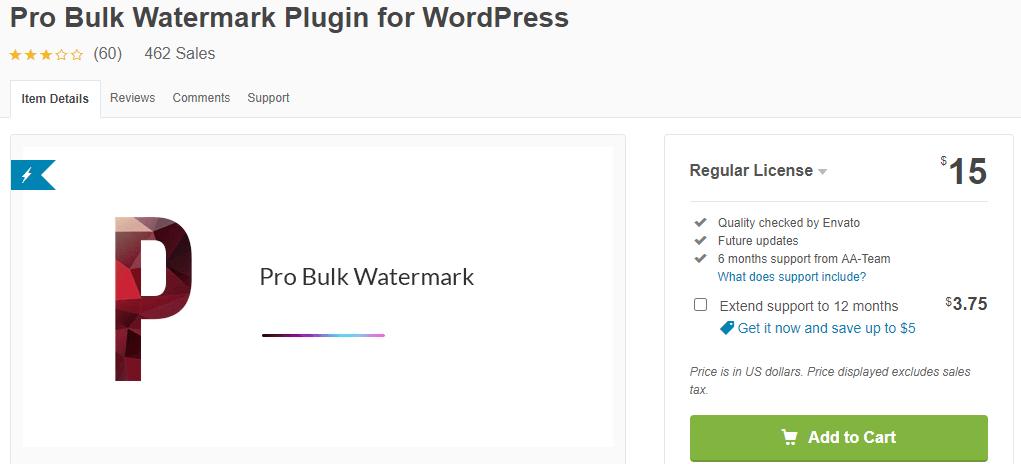 Pro Bulk Watermark Plugin