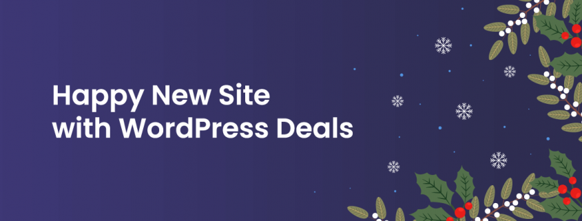 Happy New Site with WordPress Deals
