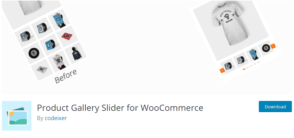 3. Product Gallery Slider for WooCommerce