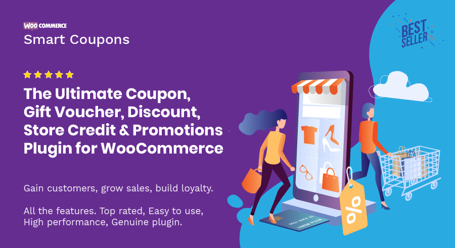 WooCommerce Smart Coupons by StoreApps