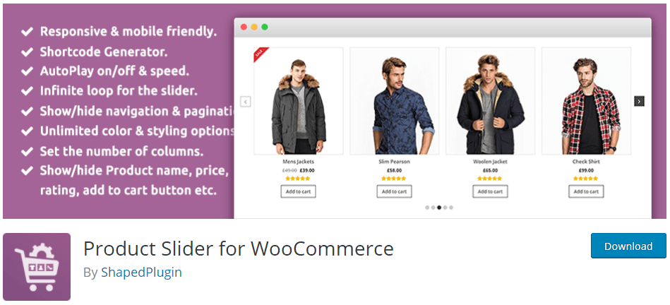 Product Slider For WooCommerceProduct Slider For WooCommerce