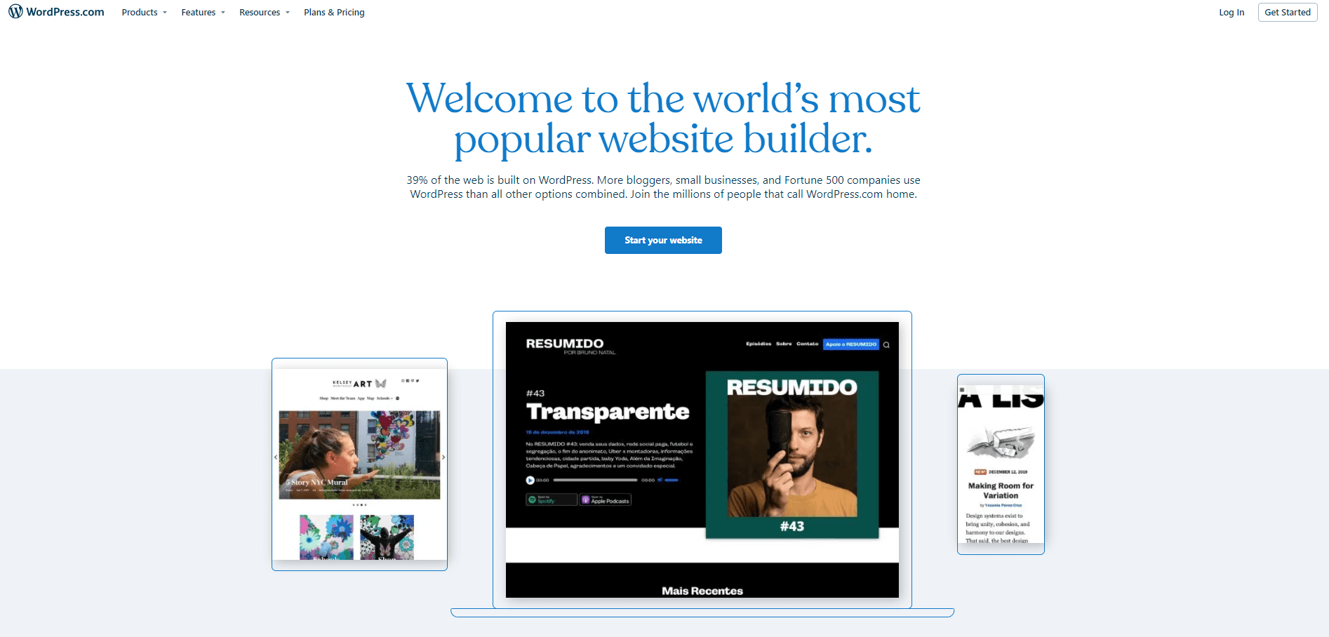 WordPress.com platform