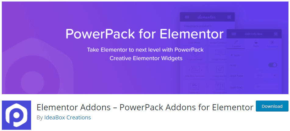 PowerPack Addons for Elementor