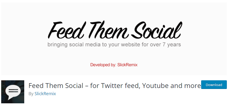 Feed Them Social Instagram Plugin
