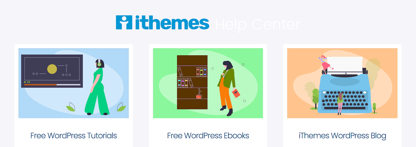ithemes wordpress help center