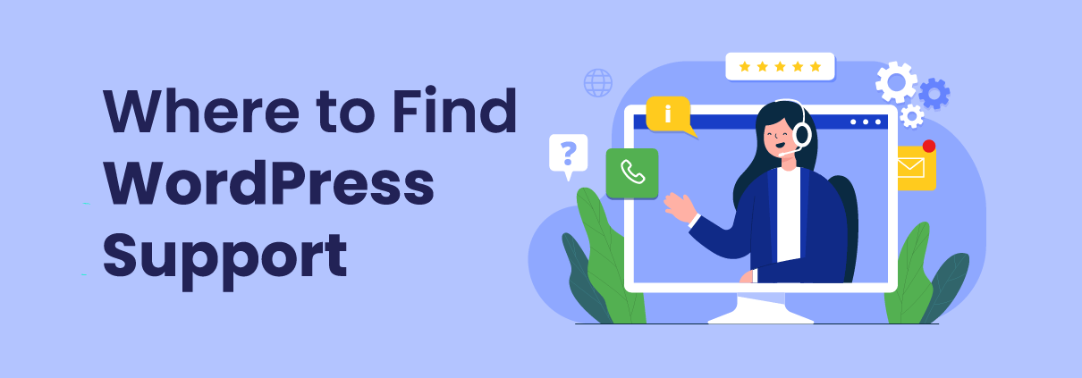 Where to find WordPress Help