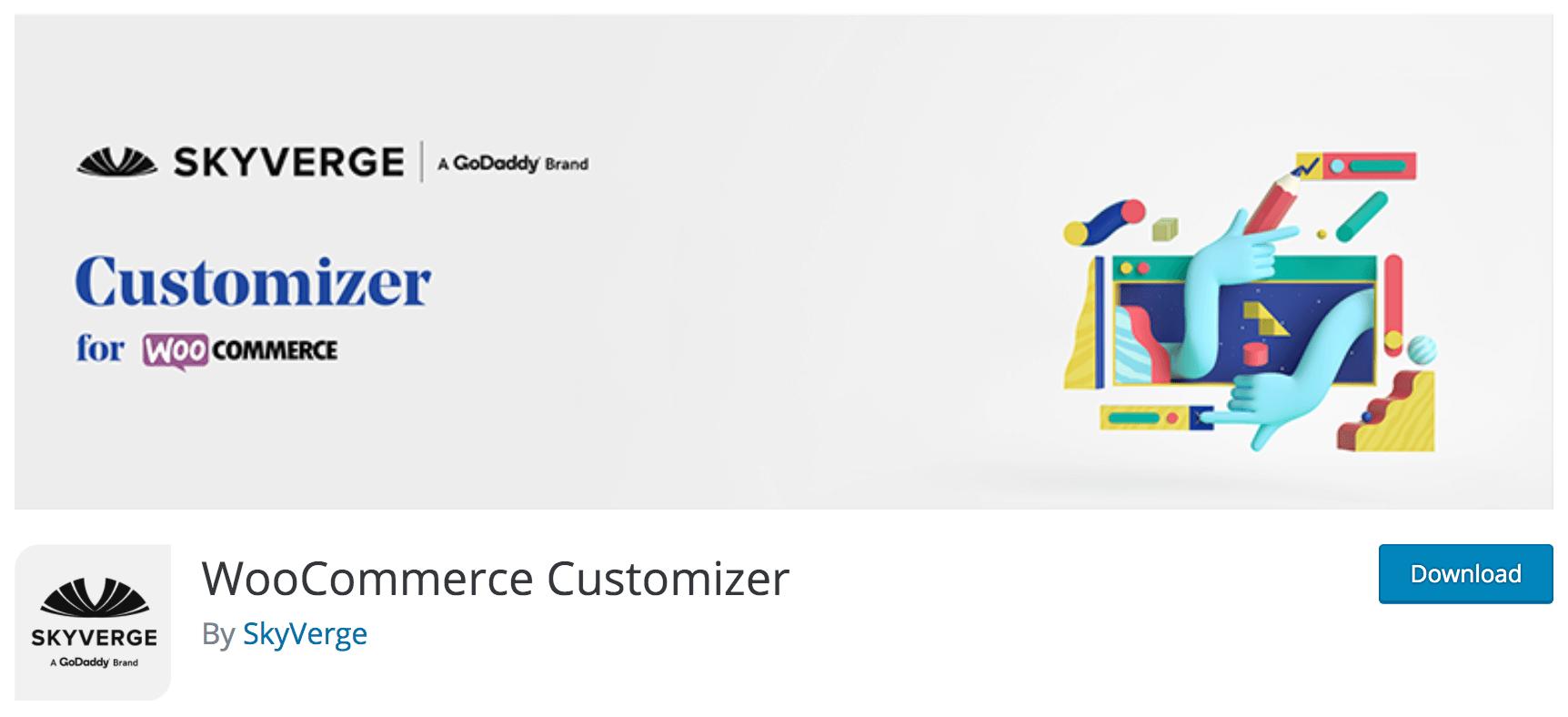 WooCommerce Customizer by SkyVerge